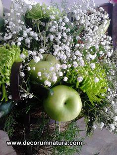 ceremonia en blanco y verde. Green and White ceremony