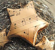 Music sheet stars