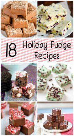 18 Holiday Fudge Recipes