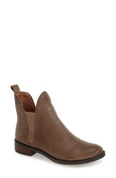 Free shipping and returns on Lucky Brand 'Nocturno' Chelsea Boot (Women) at Nordstrom.com. Low-cut elastic side panels look so modern on a soft leather Chelsea boot styled with a round toe and low, stacked heel.