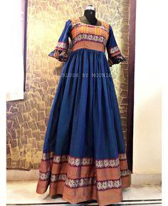 Indian Long Frocks, Indian Long Dress, Indian Gowns Dresses, Long Gown Dress, Frock Dress, Long Gowns, Long Dresses, Saree Gown, Anarkali Dress