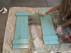 DIY Interior Window Shutters for Under $20