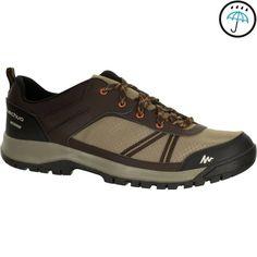 a98eeebcd017 Men's NH300 waterproof hiking shoe in beige Hiking Shoes, Mens Hiking  Boots, Walking Boots