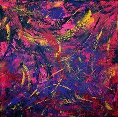 1:30 mts x 1:30 mts. Acrylic on Canvas.