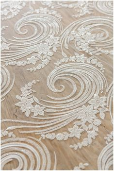 Spiral flower lace fabric Bridal lace fabric French lace Spiral flower lace fabric Bridal lace fabric French lace The post Spiral flower lace fabric Bridal lace fabric French lace appeared first on Lace Diy. Embroidery Flowers Pattern, Learn Embroidery, Beaded Embroidery, Fabric Patterns, Flower Patterns, Hand Embroidery, Embroidery Designs, Bridal Lace Fabric, Linens And Lace