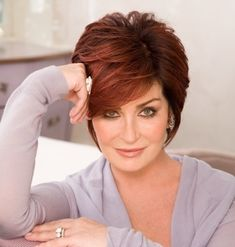 Sharon Osborne- Love her hair! Such a classy lady! and always seems so real in telling it how it is.