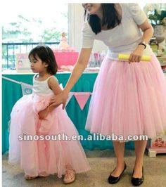 adult pink long tutu dresses