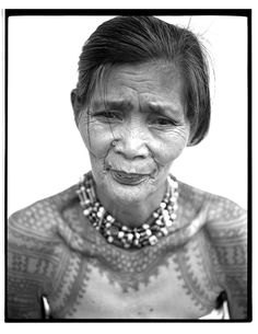 The Last Tattooed Women of Kalinga - JAKE VERZOSA | photographer