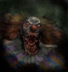 Bad, bad clown...
