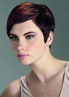 Side Part Medium Pixie Haircut - Cute Medium Pixie Haircuts for Women