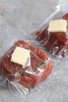 Sous Vide Filet Mignon Recipe, Filet Mignon Steak, Beef Filet, Scelleuse Sous Vide, Sous Vide Cooking, Butter Chicken, Garlic Butter, Sousvide Recipe, Tenderloin Steak