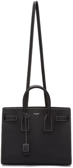Saint Laurent - Black Small Sac De Jour Bag