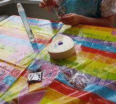 DIY Prinsessenfeest Mini Marshmallows, Diys, Bricolage, Do It Yourself, Diy Hacks