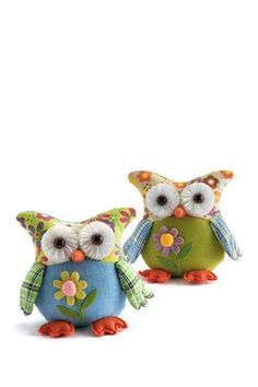 Owl Sitters - Set of 2