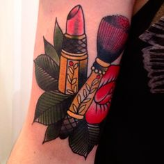 Lipstick Tattoos, Designs And Ideas : Page 11