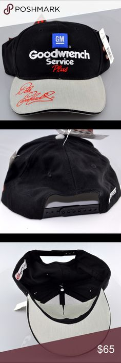 Dale Earnhardt Sr. #3 GM Goodwrench Service Cap Cap is brand new with tags, never been worn. #3 Dale Earnhardt Sr. GM Goodwrench Service Plus. Adjustable Snap Back. smoke free pet friendly home. Competitors View Accessories Hats