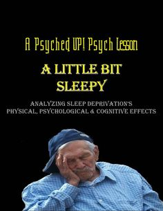 Intro to Psych: Harmful Effects of Sleep Deprivation Ap Psychology, School Psychology, Social Studies Classroom, Recent Discoveries, States Of Consciousness, Study Skills, Lose My Mind, Sleep Deprivation, Teaching Tools