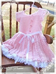 crochet d lane: Pretty in Pink-pattern available for purchase to size 4