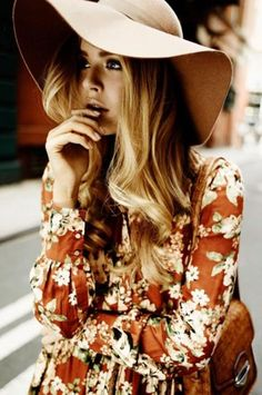 Floppy Hats and Floral Prints