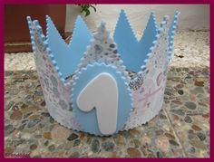 Corona para fiesta infantil de cumpleaños