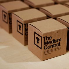 Packaging - small cardboard boxes  with good graphics