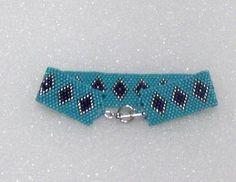 Tribal Design Beaded Cuff Bracelet In from blujay.com