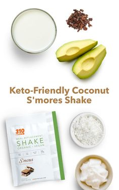 Not only is this shake incredibly low in carbs, (therefore perfect for a keto diet), it's ideal to help crush your sweet tooth in a healthy way. And whether or not you're following keto, it's so tasty that you'll surely crave it again and again. Keto Friendly Chocolate, Vegan Chocolate, Vegan Friendly, Protein Powder Recipes, Protein Shake Recipes, Whole Food Recipes, Keto Recipes, Drink Recipes, Healthy Recipes