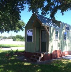 Tiny House on Wheels For Sale Tiny Houses For Rent, Best Tiny House, Tiny House On Wheels, Tiny House Rentals, Tiny House Listings, Home Financing, Tiny House Movement, Garden Living, Earthship