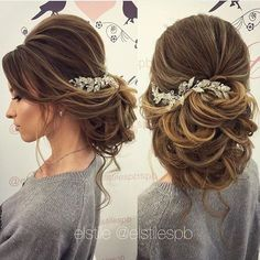Wedding Hairstyles for Long Ha |