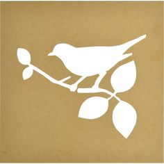 KAISERCRAFT-Beyond The Page-Silhouette Wall Art: Bird. Use your own creativity and embellishments to turn this plain panel into a beautiful display piece for your home or office. The MDF is a blank ca Printable Frames, Bird Boxes, Bird Silhouette, Wall Stickers Murals, Altered Art, Framed Wall Art, Art For Kids, Sewing Crafts, Embellishments