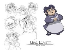 Character Design | Old Women