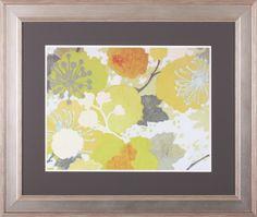 Garden Variety I by Sally Bennett Baxley Framed Painting Print