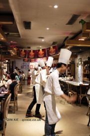 Menu and photos from a dinner at Xiang), the Japanese themed teppanyaki restaurant where the chefs dance in between courses, in Chengdu, China Teppanyaki Restaurants, In Pursuit, Chengdu, Chefs, Dancing, Japanese, Dinner, Food, Dance