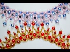 Material List: Numbers of beads with vary with the length of bracelet you make. 44- 5mm bicone crystals 11/o seed bead size 10 or 12 beading needle 8lb pound...
