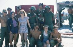 Playboy Bunnies of the Month visiting the troops in Vietnam, vietnam veteran news, mack payne