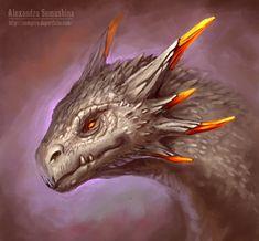 Dragon by Sedeptra on DeviantArt