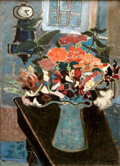 Still Life with Clock, Eric Isenburger, c. 1940 (American-Jewish, 1902–1994), oil on canvas