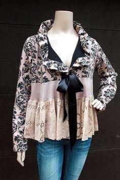 Romantic Jacket, Shabby Chic, Junk Gypsy Style | JUNK GYPSY <