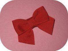 I Like Big Bows: Mini hair bow tutorial *Tuxedo bows hairbow