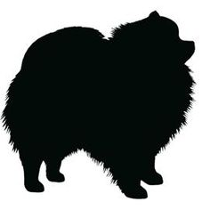pomeranian silhouette - Yahoo Image Search Results