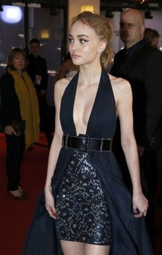 Lily Rose Depp chanel couture
