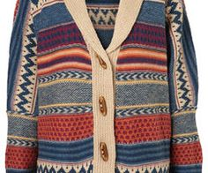 sweaters. oh sweaters.  love this one's colour and print