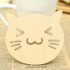 Posavasos de Gatos Carita Feliz