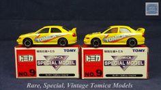 TOMICA 104C MITSUBISHI LANCER EVO IV | 1/59 | CHINA | SPECIAL 2001 | 2 MODELS