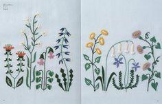 12 meses bordado por Yumiko Higuchi libro de arte por KitteKatte