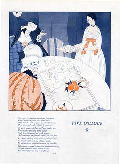 Charles Martin 1919 Five O' Clock, Elegants