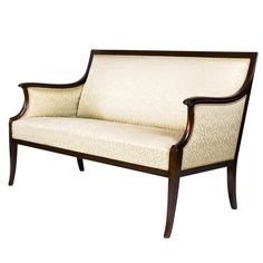Frits Henningsen Settee | From a unique collection of antique and modern settees at https://www.1stdibs.com/furniture/seating/settees/