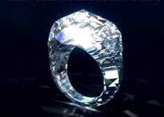 first ring completely made of diamonds.