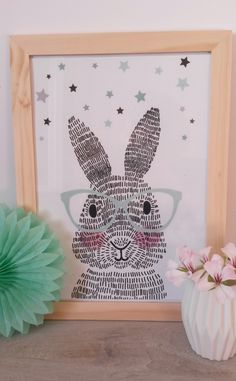 Lapin chez Christine F - Trend Ideas Easter Crafts For Kids, Diy For Kids, Toys Drawing, Art Drawings, Scandinavian Frames, Art Diy, Diy Ostern, Arts And Crafts, Diy Crafts