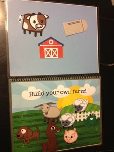 2 Adorable Printable Quiet Books for those looking for a No-Sew option. There is a Bible Quiet Book as well as a Farm Life Quiet Book. Magnets or velcro